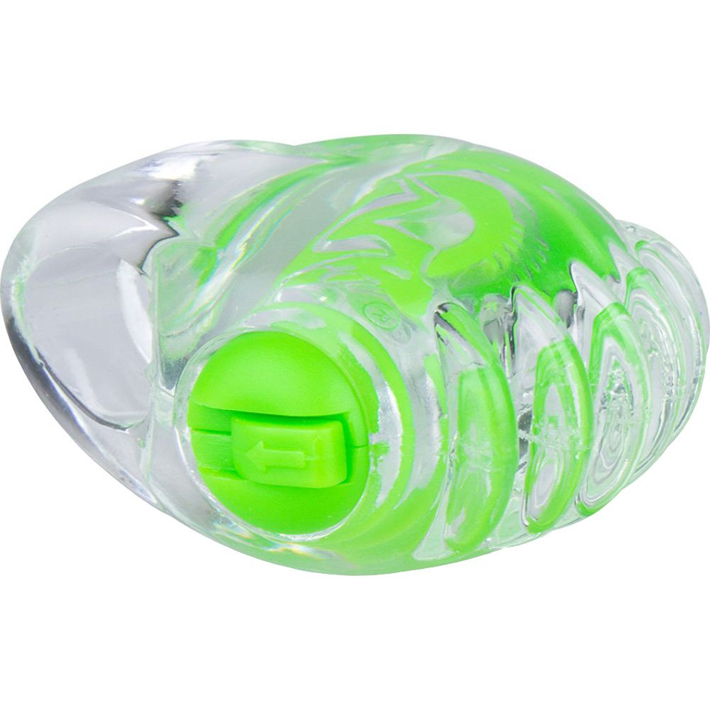 Screaming O Color Pop Fingo Tip Vibrator Green - View #3