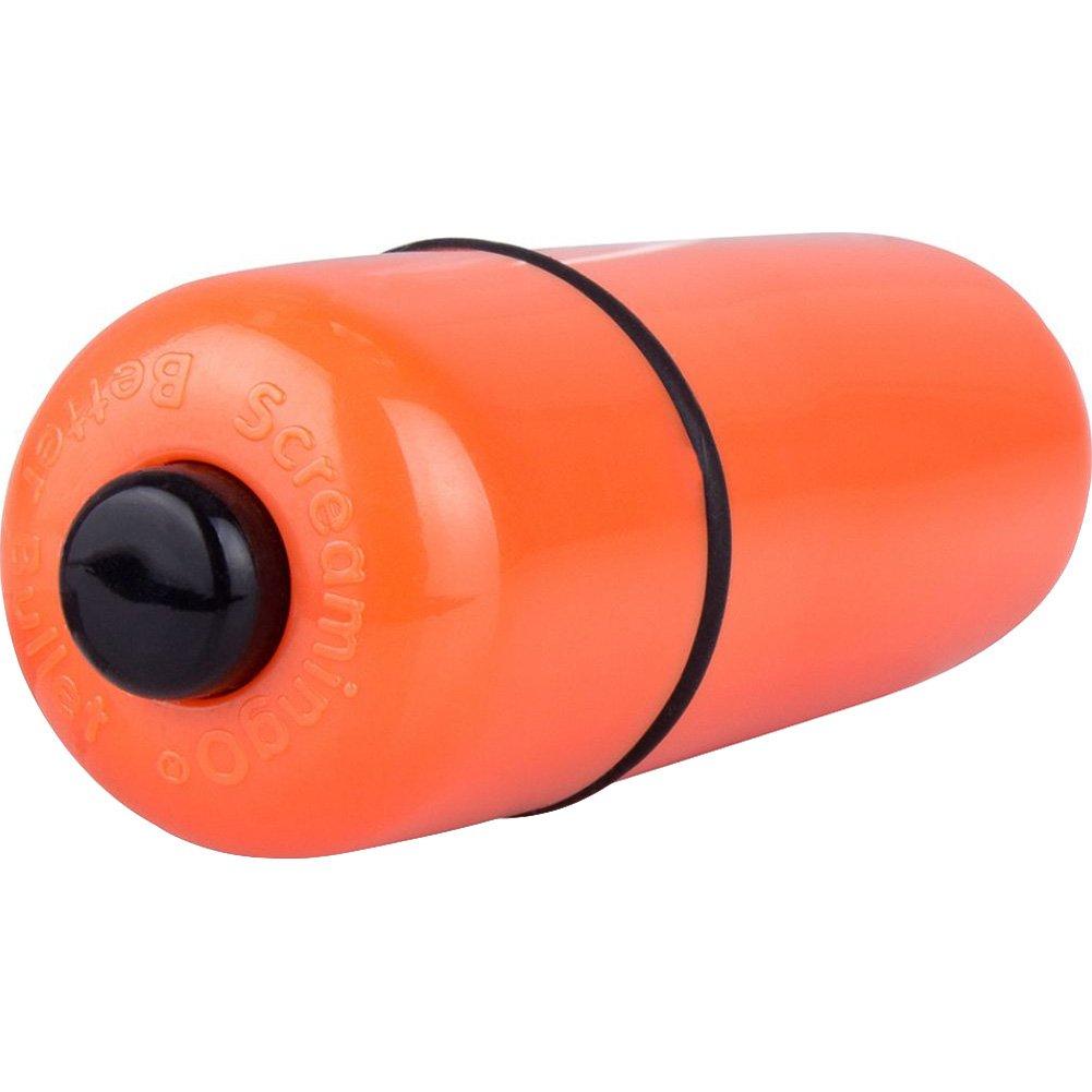 """Screaming O Vooom Bullets Deep Rumbling Mini Vibe 3"""" Tangerine - View #3"""