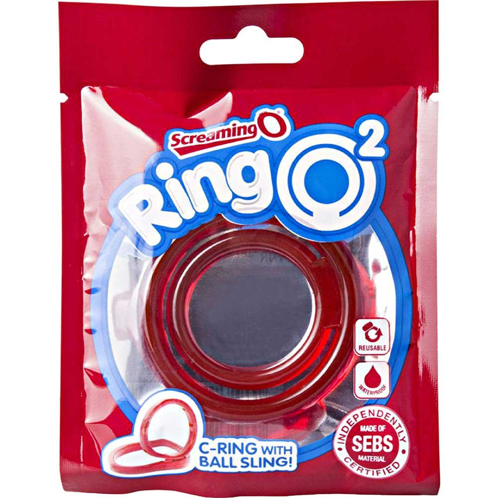 Screaming O Ringo 2 Cock Ring Red - View #1