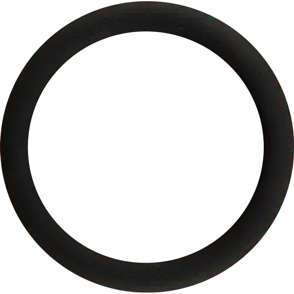 Malesation Silicone Cock Ring Extra Large Black - View #2