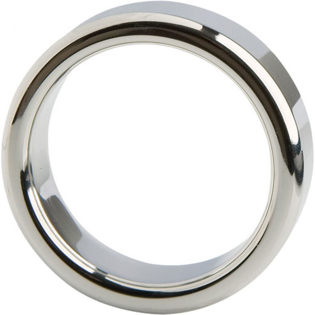 Malestation Metal Professional Cock Ring 38mm Silver - View #2