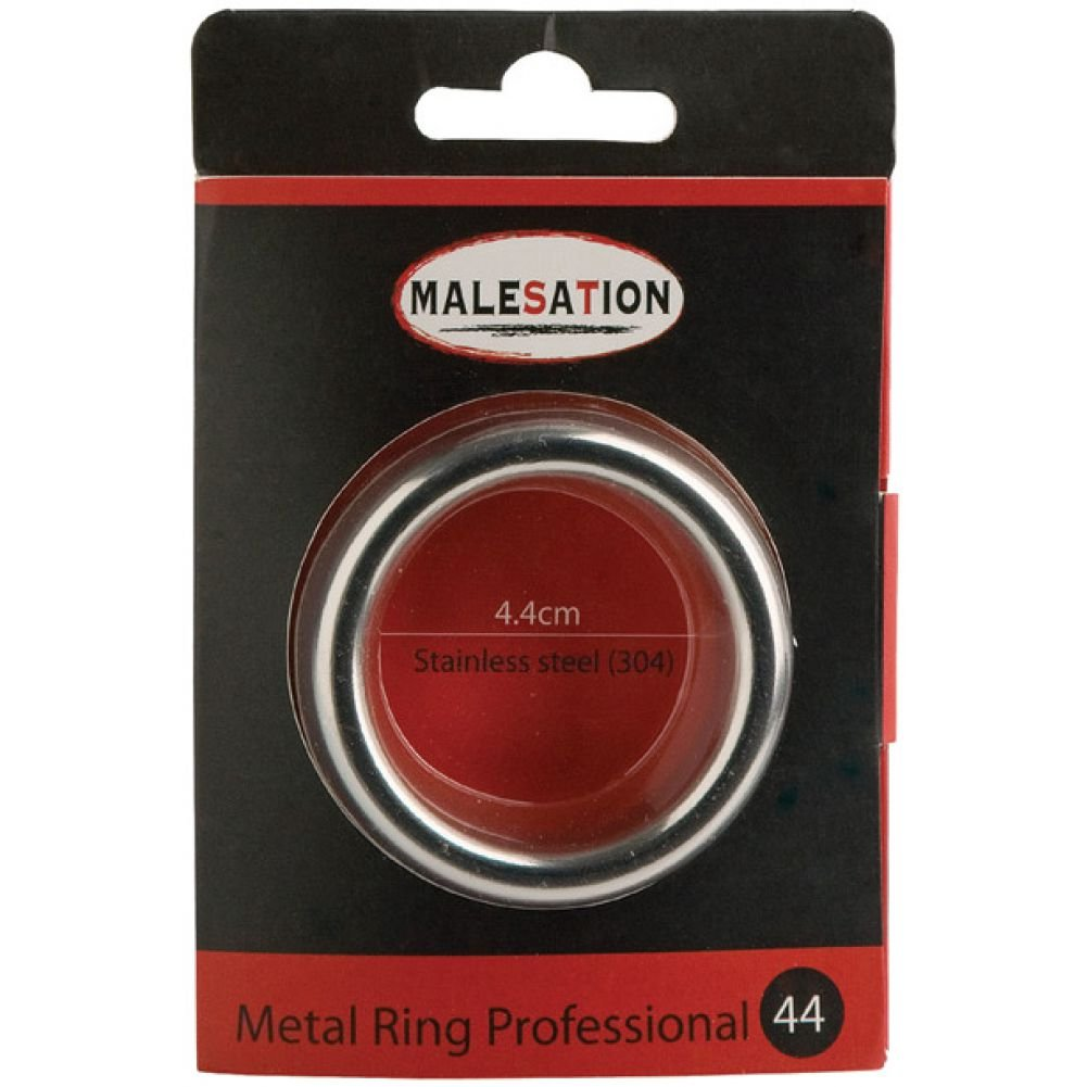 Malesation Metal Professional Ring 44 Mm Silver - View #1