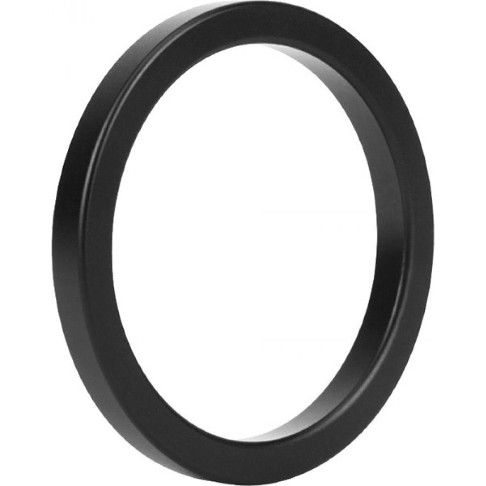 Malesation Nickel Free Metal Stamina Ring Black 45 Mm - View #2