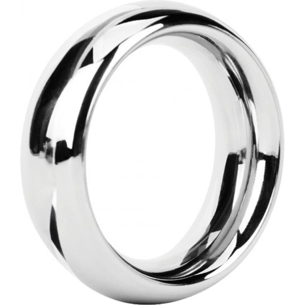 Malesation Nickel Free Stainless Steel Rounded Cock Ring 38 Mm - View #2