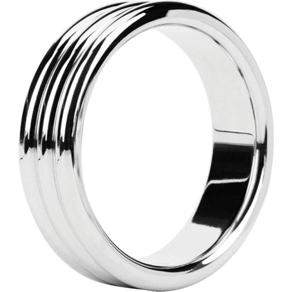 Malesation Nickel Free Stainless Steel Triple Cock Ring 44 Mm - View #2