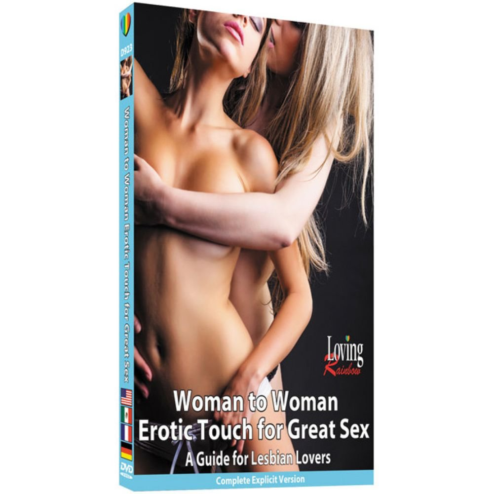 Woman to Woman Erotic Touch for Great Sex a Guide for Lesbian Lovers DVD - View #1