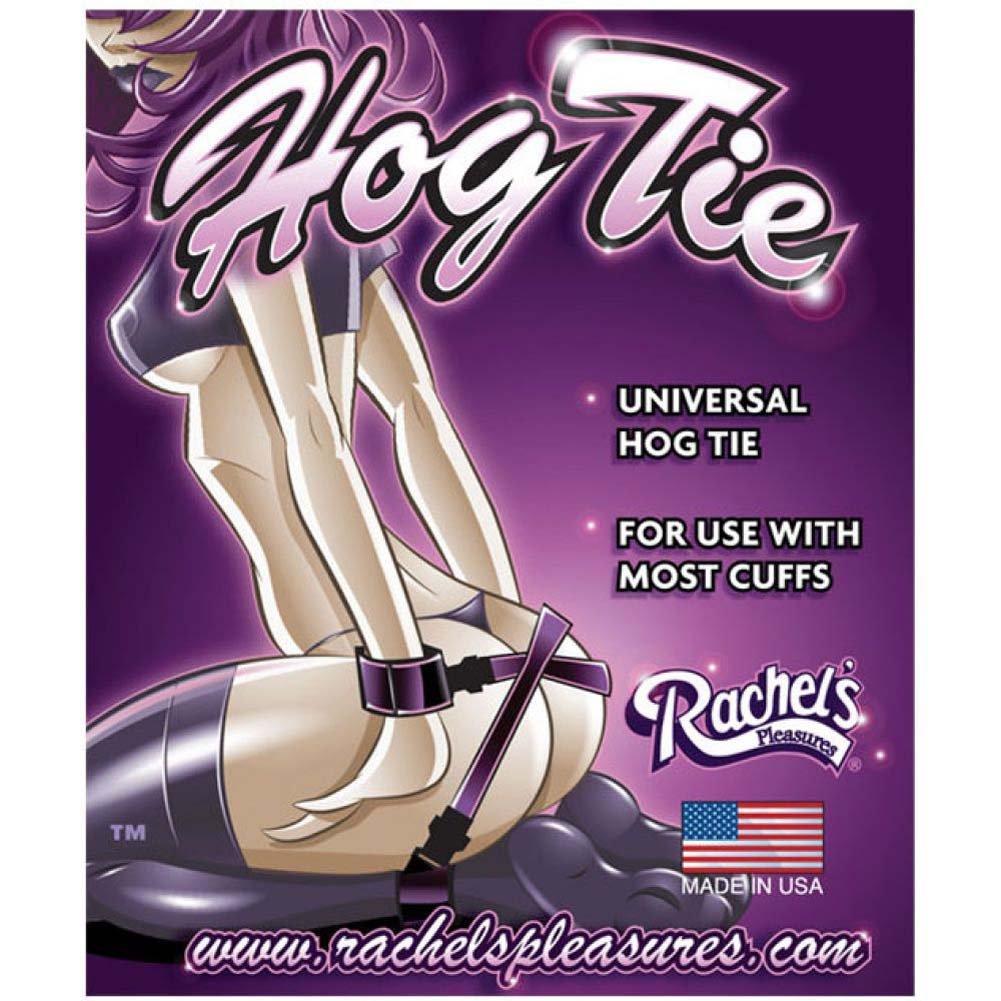RachelS Pleasures Universal Hog Tie Black - View #1