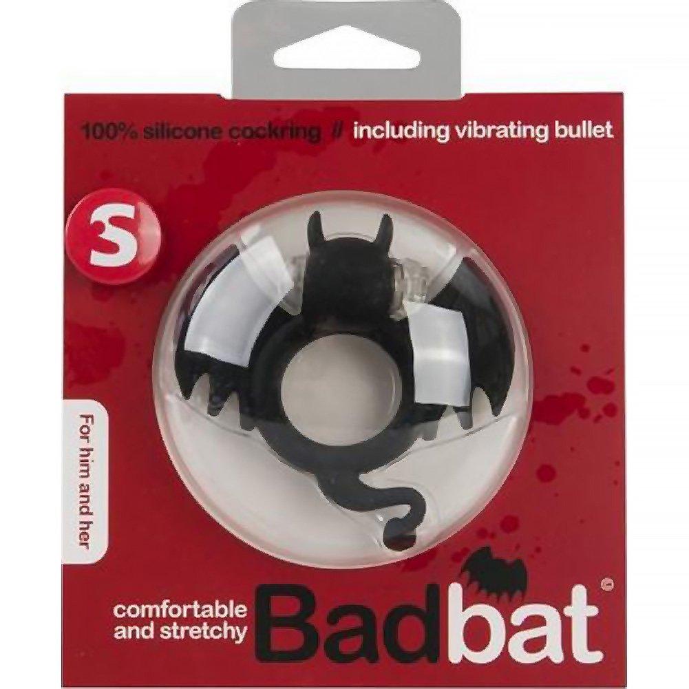 Shots S Line Badbat Cock Ring Red - View #1