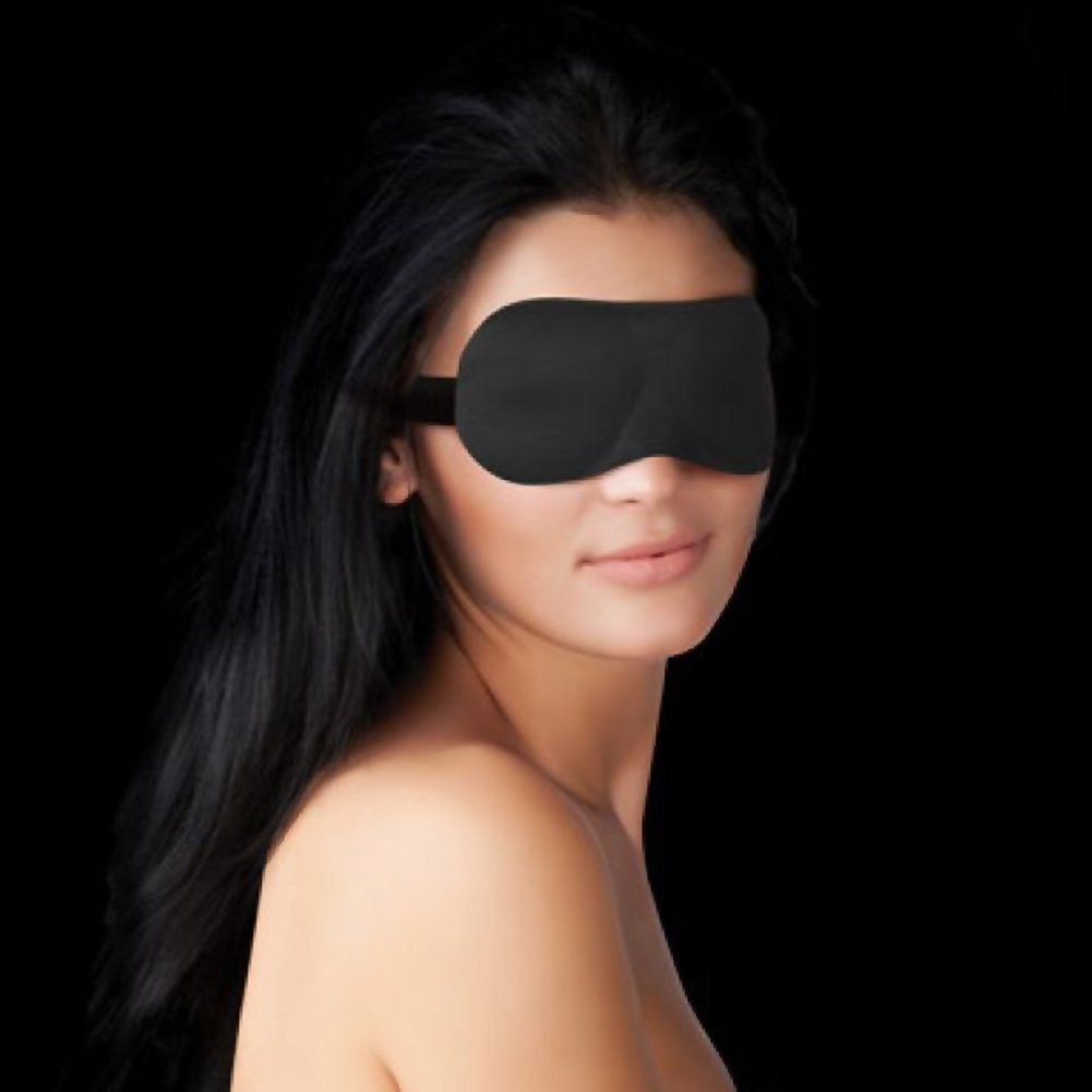 Ouch Curvy Eye Mask for Lovers Black - View #2