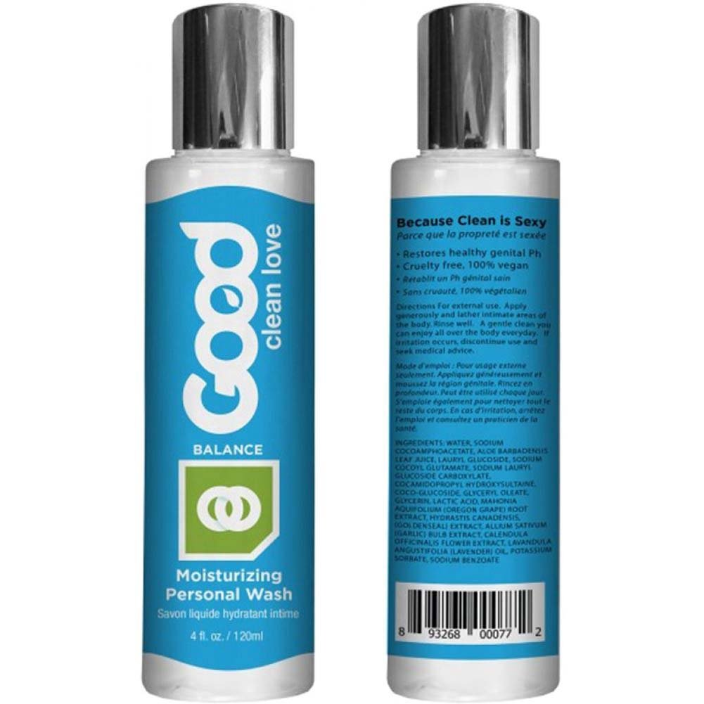 Good Clean Love Balance Moisturizing Wash 4 Fl.Oz 120 mL - View #1
