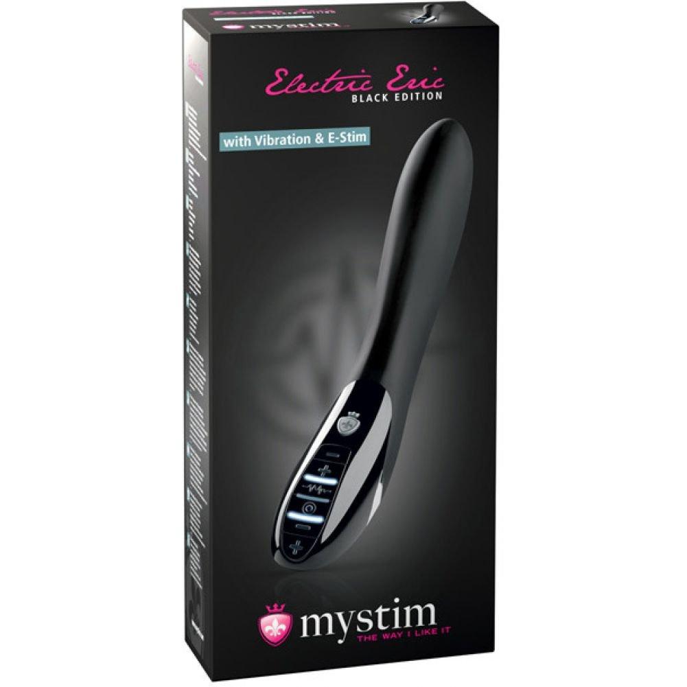Mystim Electric Eric Estim Vibrator Black Edition Black - View #4
