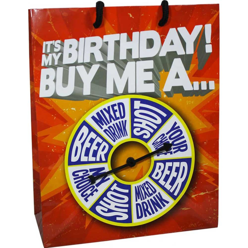 Kalan ItS My Birthday Buy Me a Shot....Spinner Gift Bag - View #1