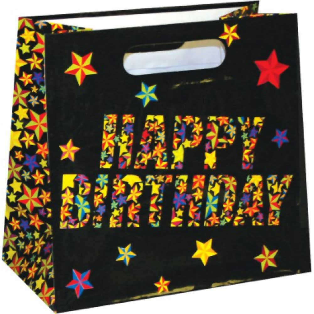 Kalan Happy Birthday Beer Bag Holds a 6 Piece Pack - View #1