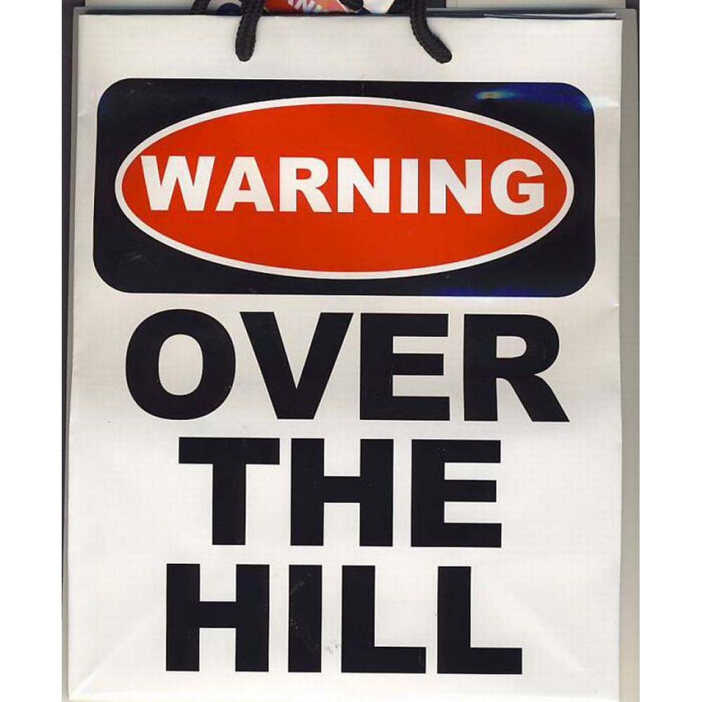 Warning Over the Hill Gift Bag - View #1