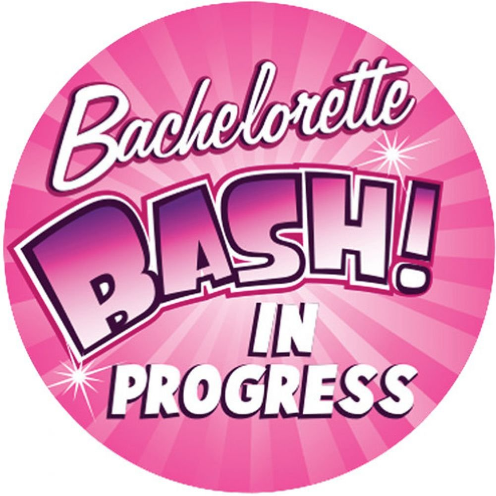 "Bachelorette Bash in Progress 3"" Button - View #1"