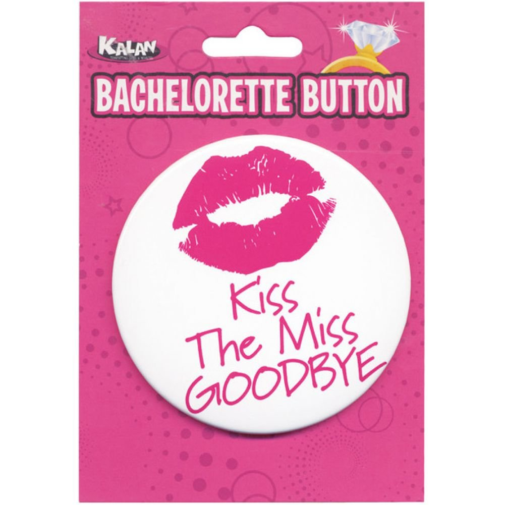 Bachelorette Button Kiss the Miss Goodbye - View #1