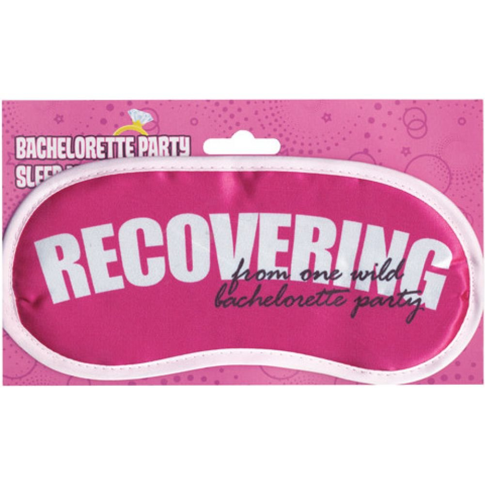 Bachelorette Party Sleep Mask Recovering - View #1