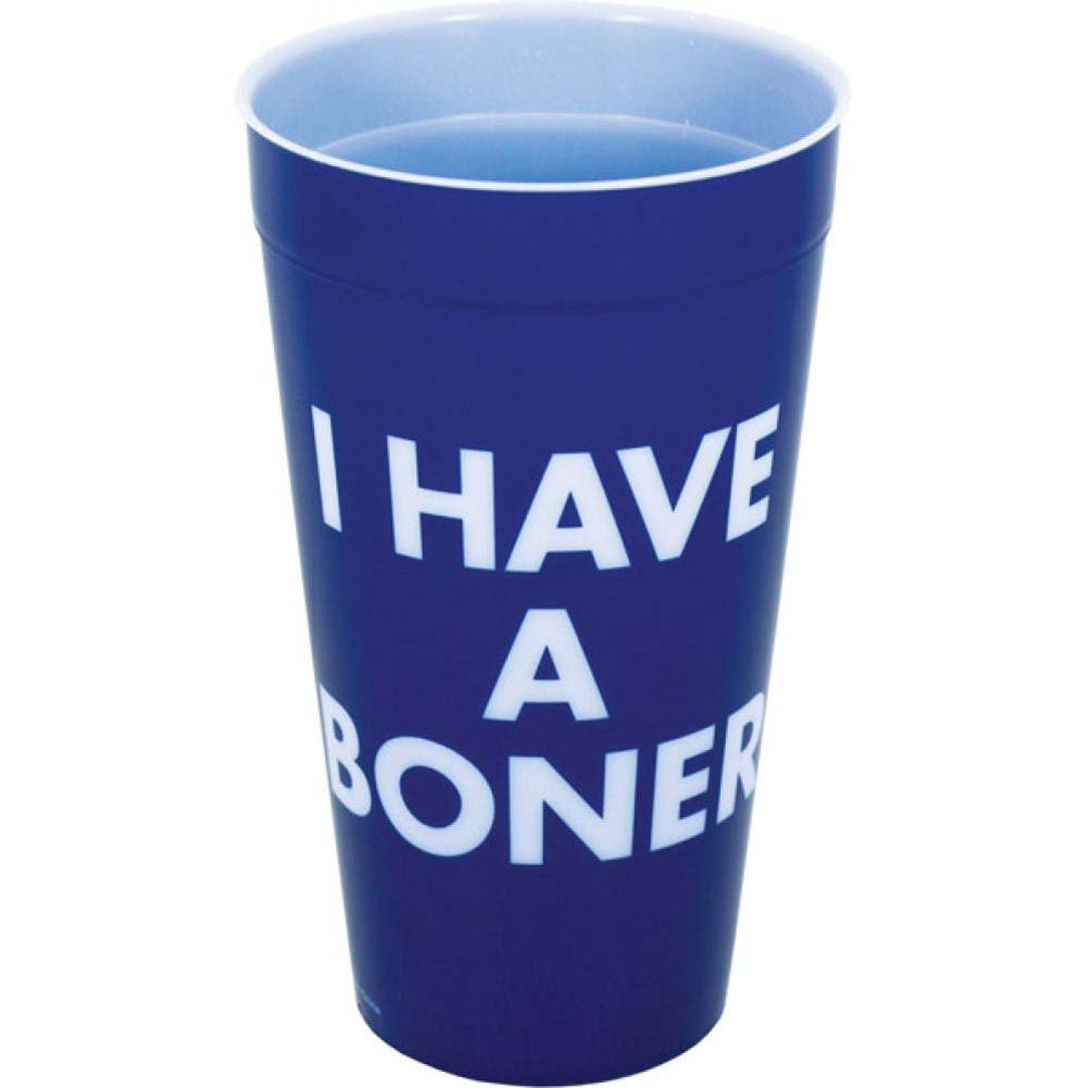I Have a Boner Drinking Cup - View #1