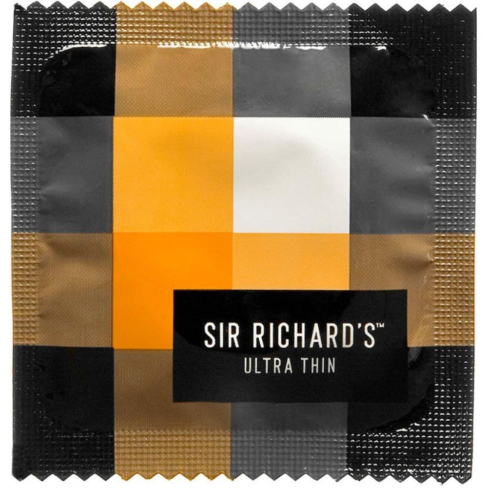 Sir Richards Ultra Thin Latex Condoms 3 Each Per Pack - View #1