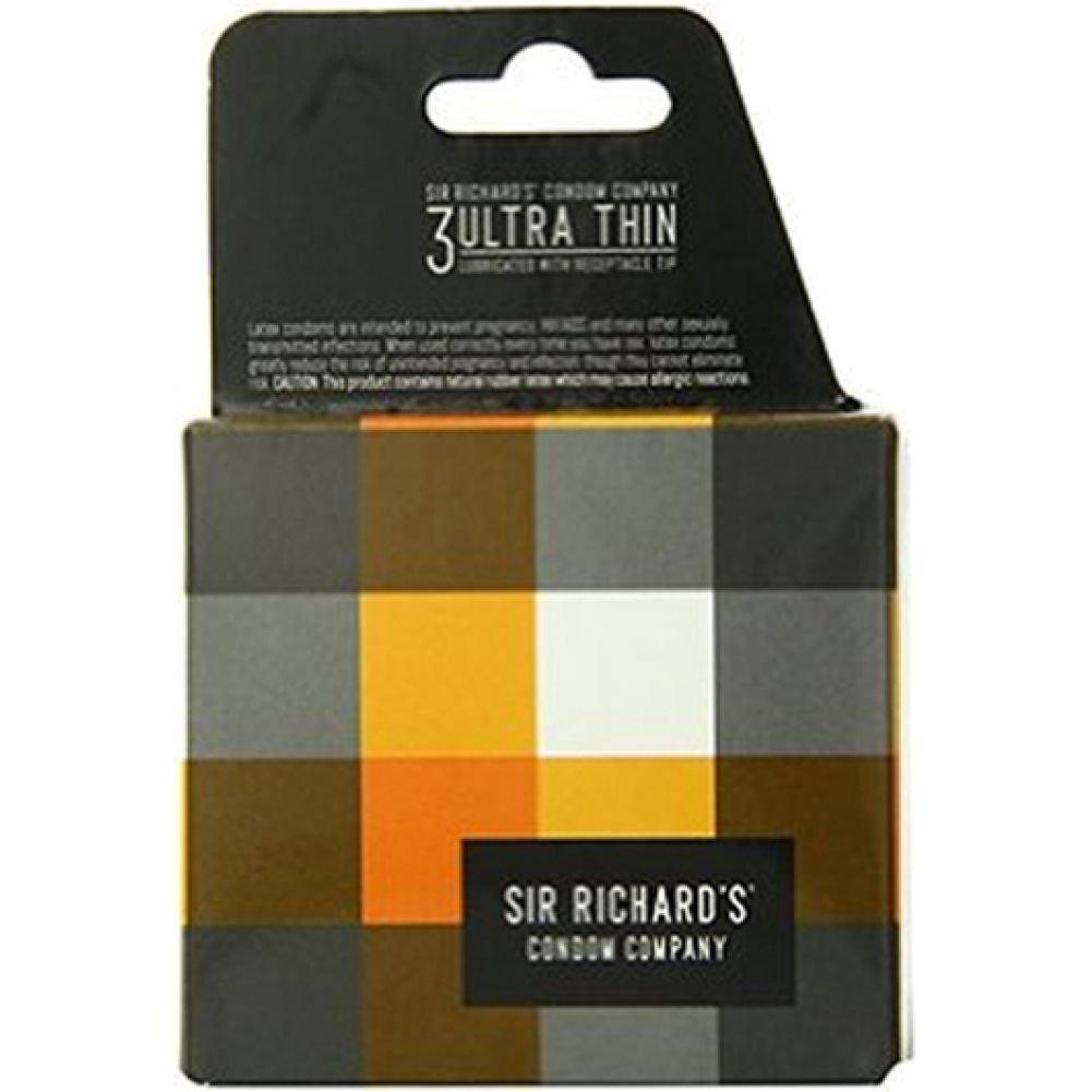 Sir Richards Ultra Thin Latex Condoms 3 Each Per Pack - View #3