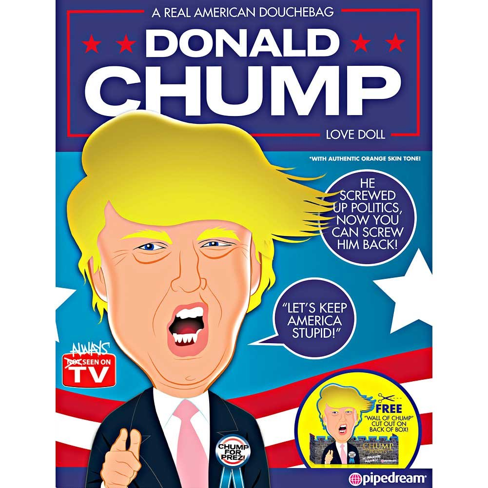 Pipedream Donald Chump Inflatable Love Doll - View #2