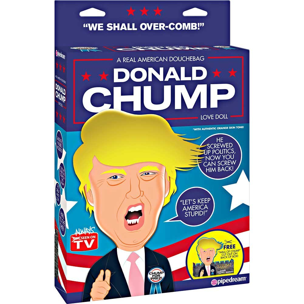 Pipedream Donald Chump Inflatable Love Doll - View #4
