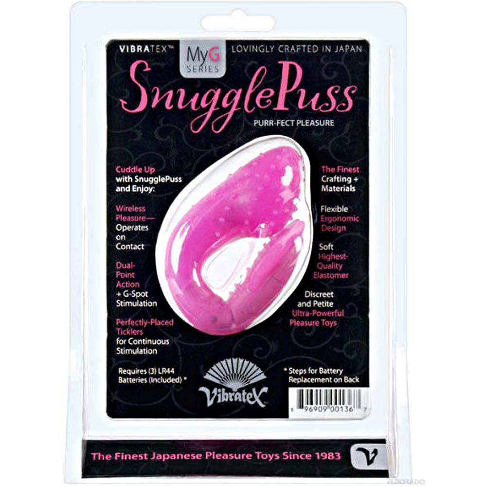 Vibratex Silicone Snugglepuss Vibrator Pink - View #1