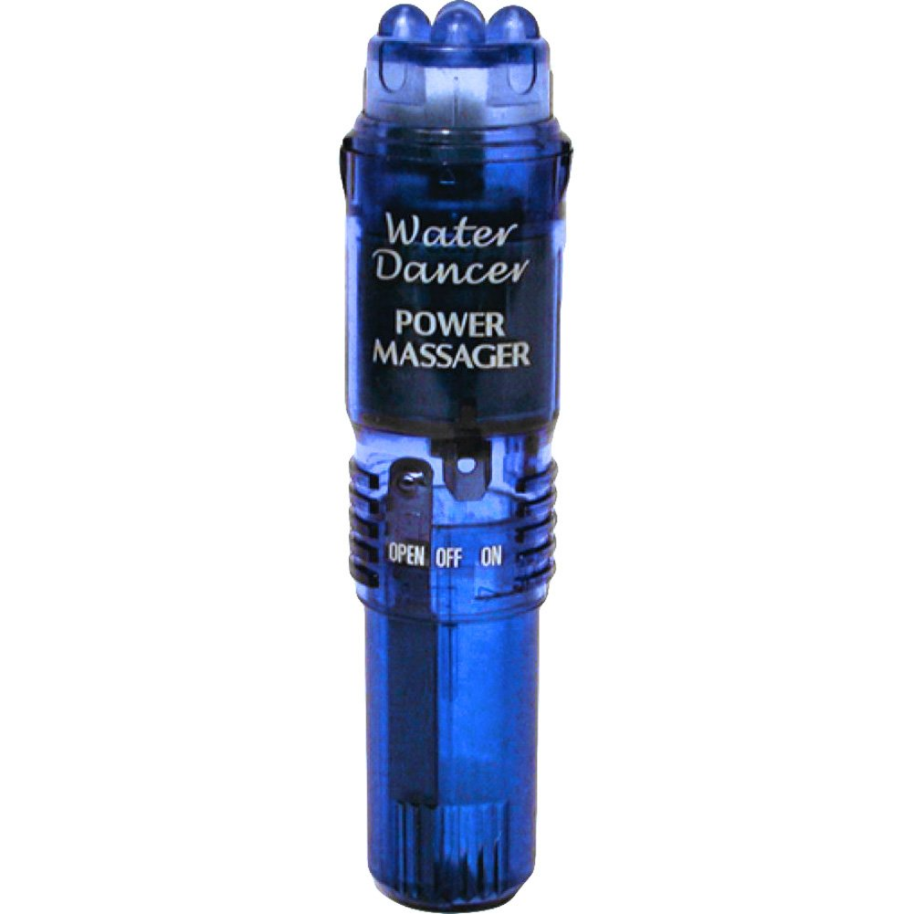 "Vibratex Waterproof Water Dancer Pocket Vibe 4.5"" Blue - View #2"