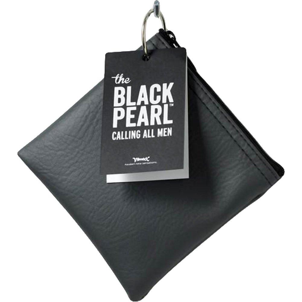 "Vibratex Black Pearl Anal Plug 5.75"" Black - View #1"