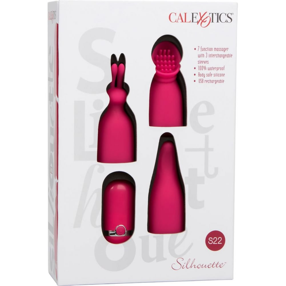 CalExotics Silhouette S22 Massager Red - View #1