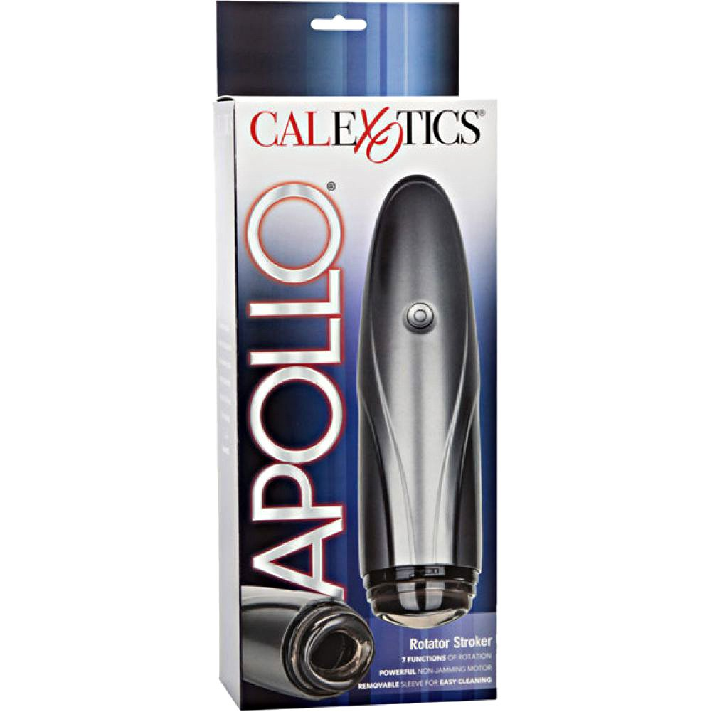 California Exotics Apollo Vibrating Rotator Stroker Silver - View #4