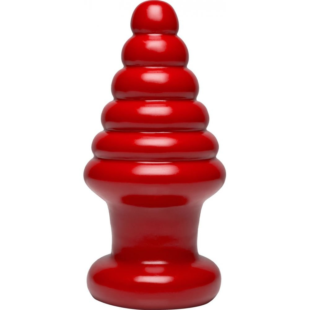 "Doc Johnson American Bombshell Destroyer Cherry Bomb Anal Plug 9"" Red - View #2"