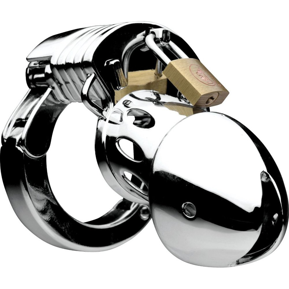 Master Series Incarcerator Adjustable Locking Chastity Cage - View #2