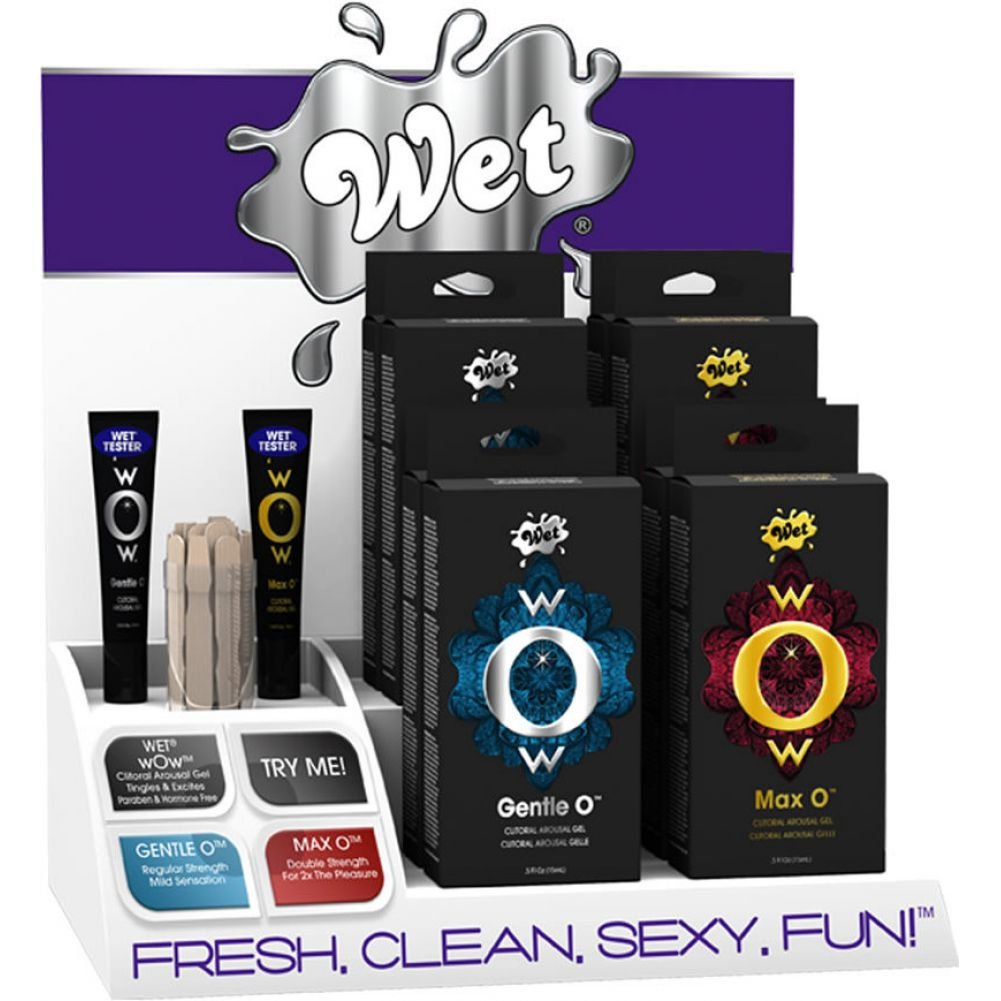 Wet Wow Lubes Counter Top Display Assorted Products - View #1