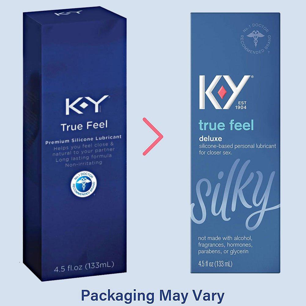 K Y True Feel Premium Silicone Lubricant 4.5 Fl.Oz 133 mL - View #3