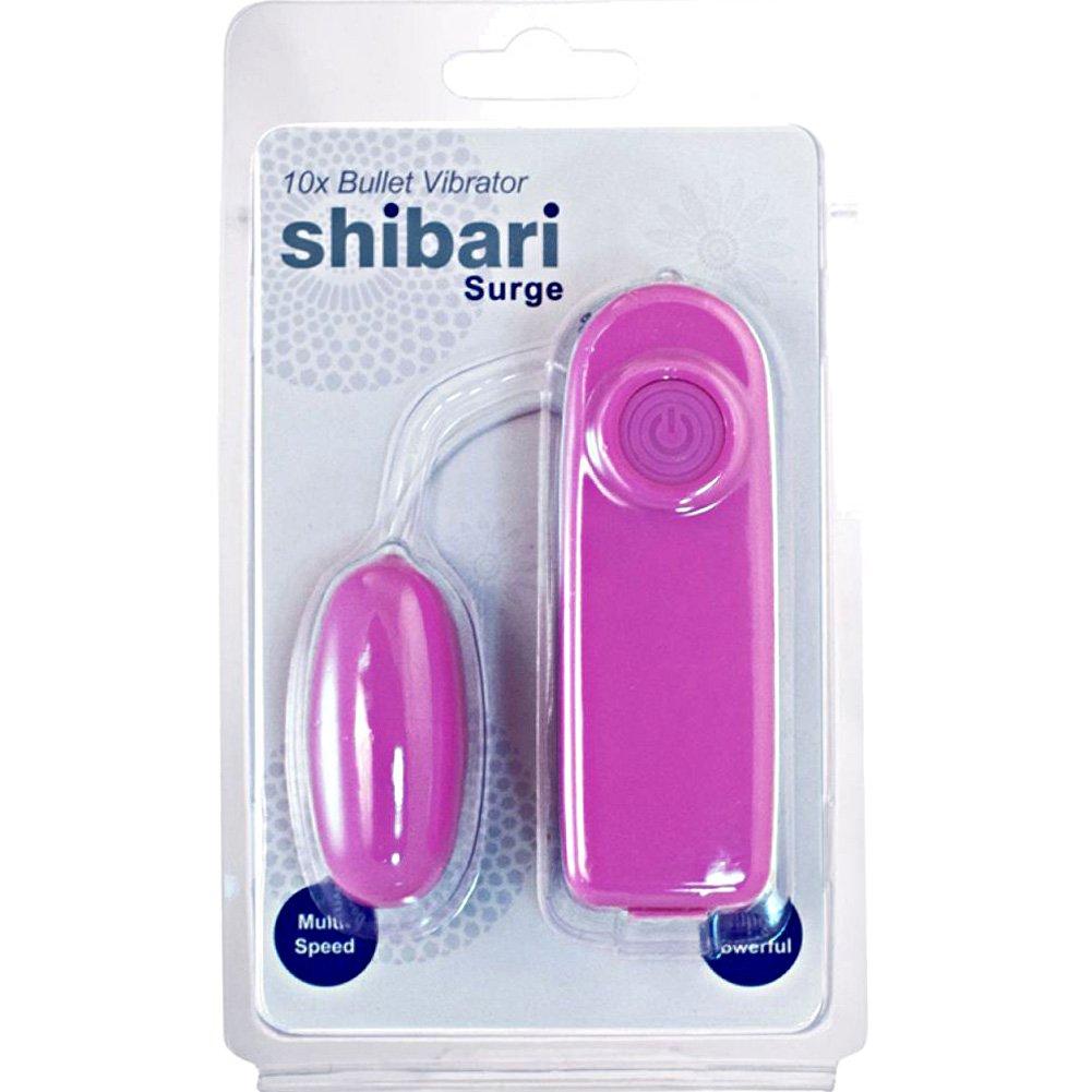 "Shibari Surge 10X Multi Speed Bullet Vibrator 2.25"" Pink - View #1"