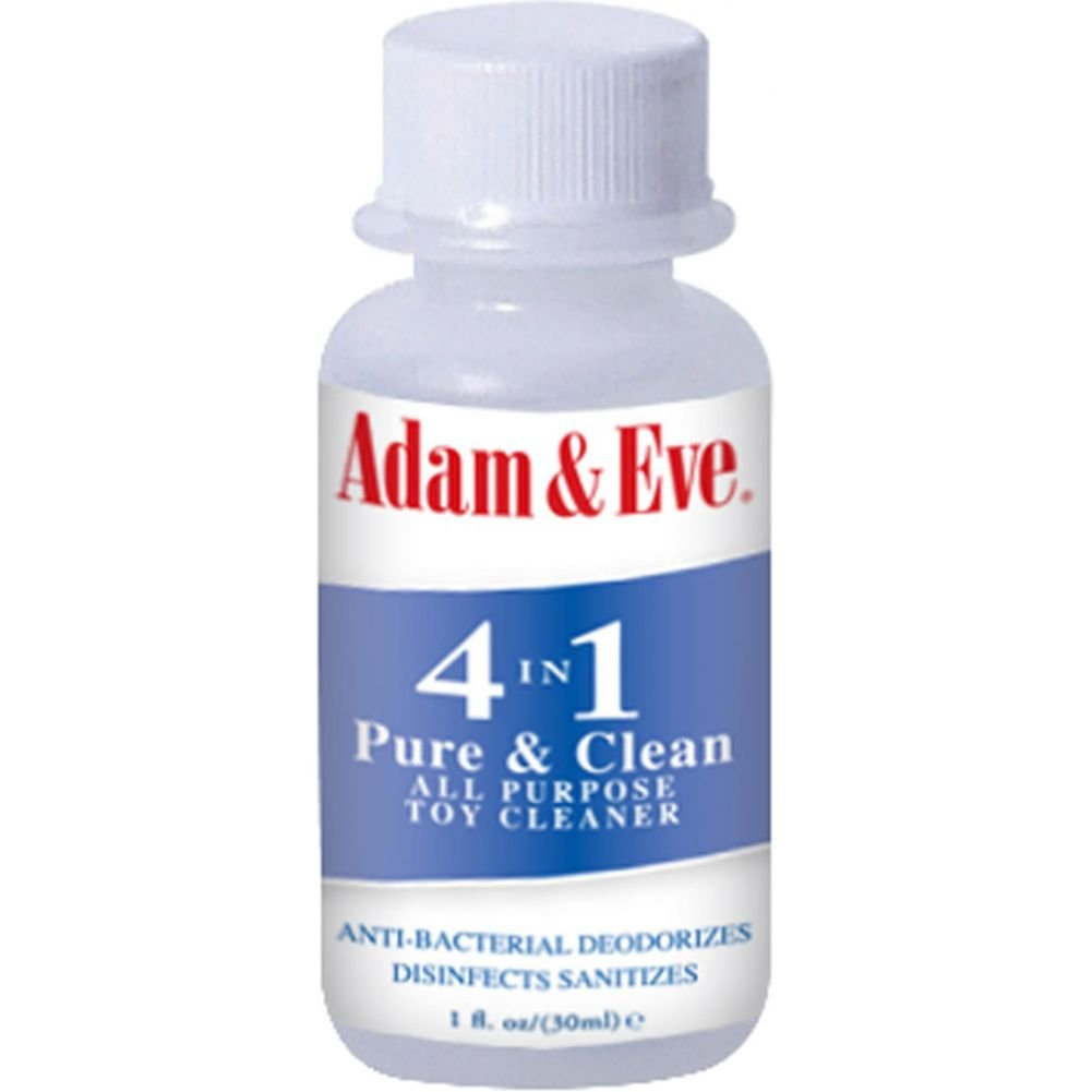 Adam and Eve All Purpose 4 in 1 Pure and Clean Toy Cleaner 1 Fl.Oz 30 mL - View #1