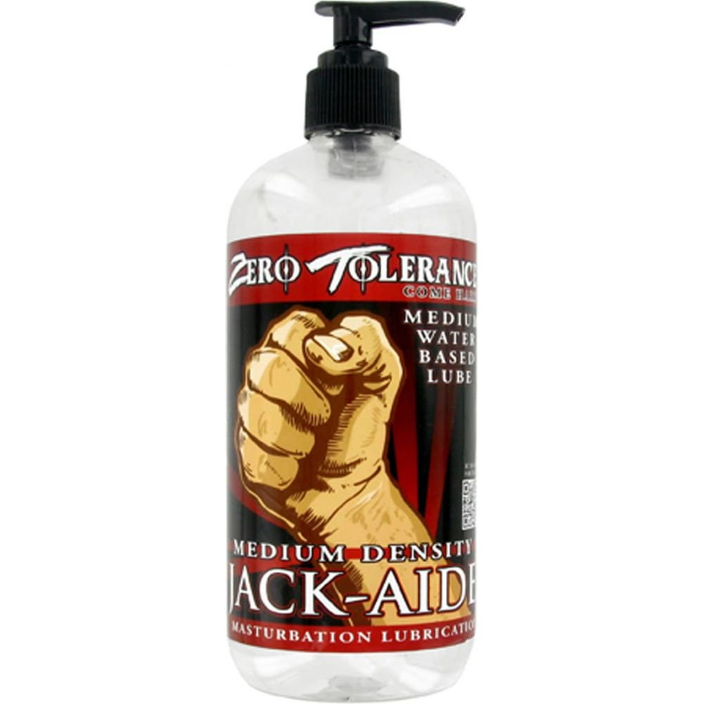 Evolved Zero Tolerance Jack Aide Medium Density Masturbation Lubricant 16 Oz - View #1