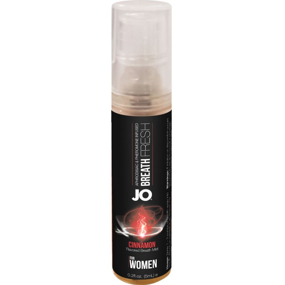 System JO Fresh Breath for Women Cinnamon 12 Each 5 Milliliter Spray Per Counter Display - View #2