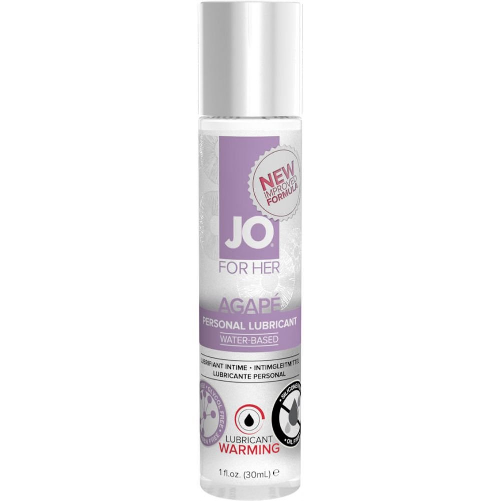 System Jo for Her Agape Lubricant Warming 1 Fl Oz 30 Ml - View #1