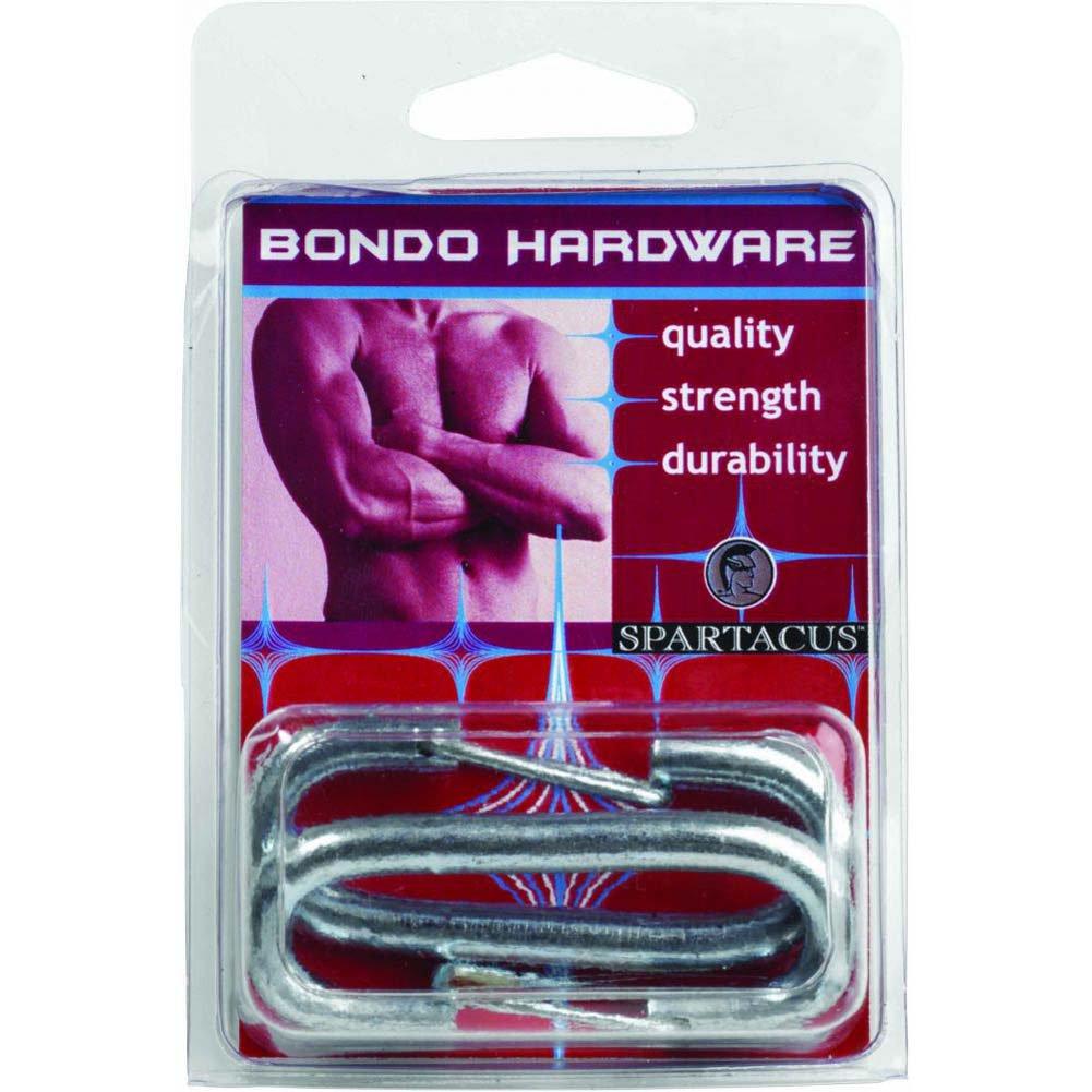 Spartacus Bondo Hardware Nickel Snap Clips 2 Per Packs Silver - View #1