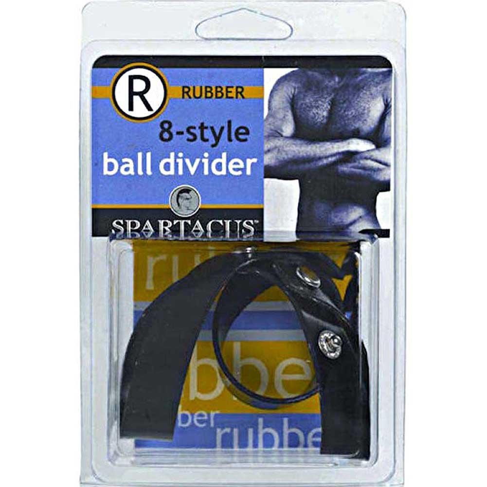 Spartacus Rubberline 8 Style Ball Divider Neoprene Black - View #3