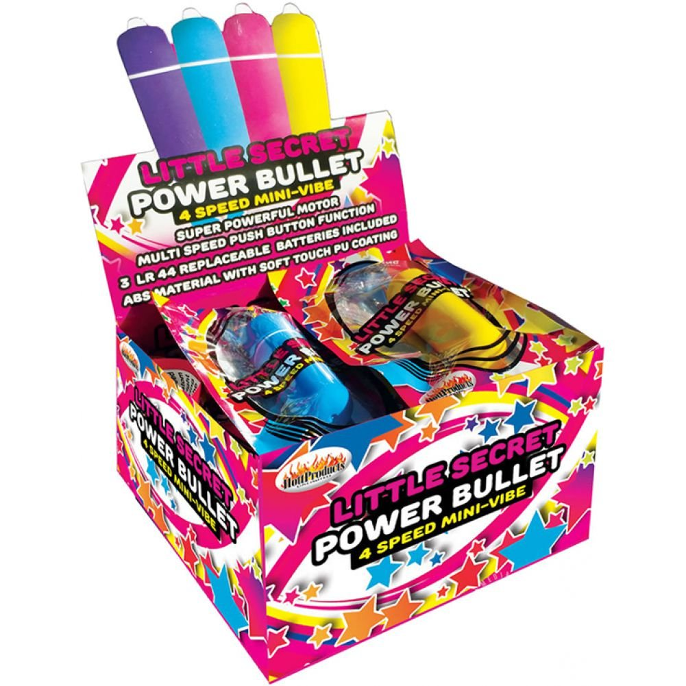 Hott Products Little Secret Power Bullet Counter Display 12 Count - View #2