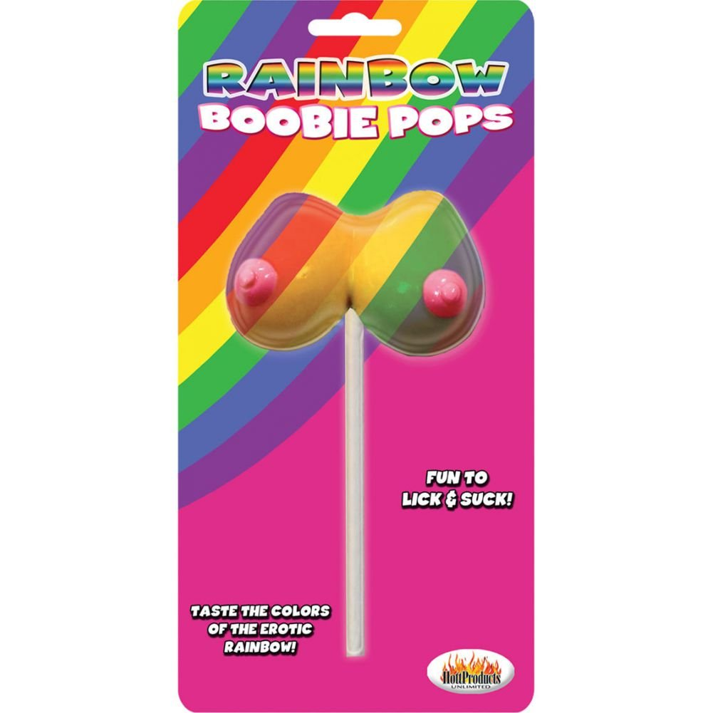 Hott Products Rainbow Boobie Pops 1.48 Oz - View #1