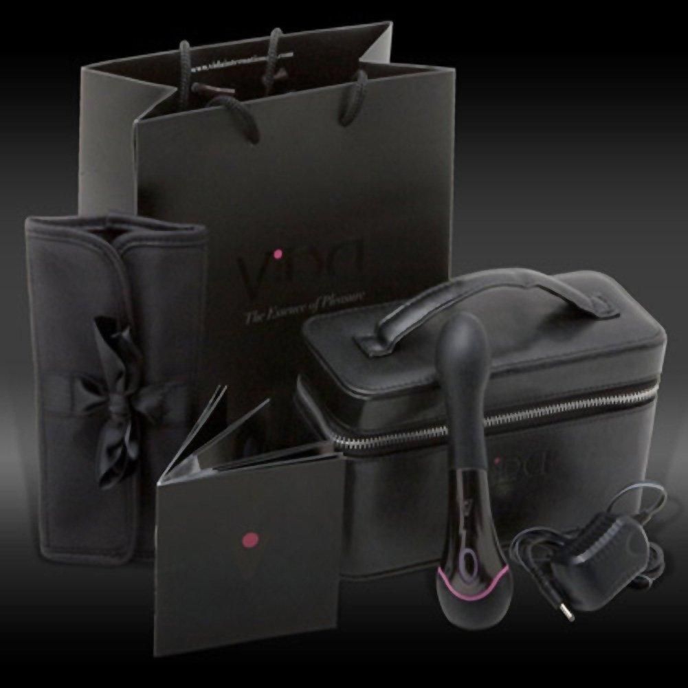 "Topco Waterproof Vida Zara G-Spot Massager 6.5"" Black - View #4"