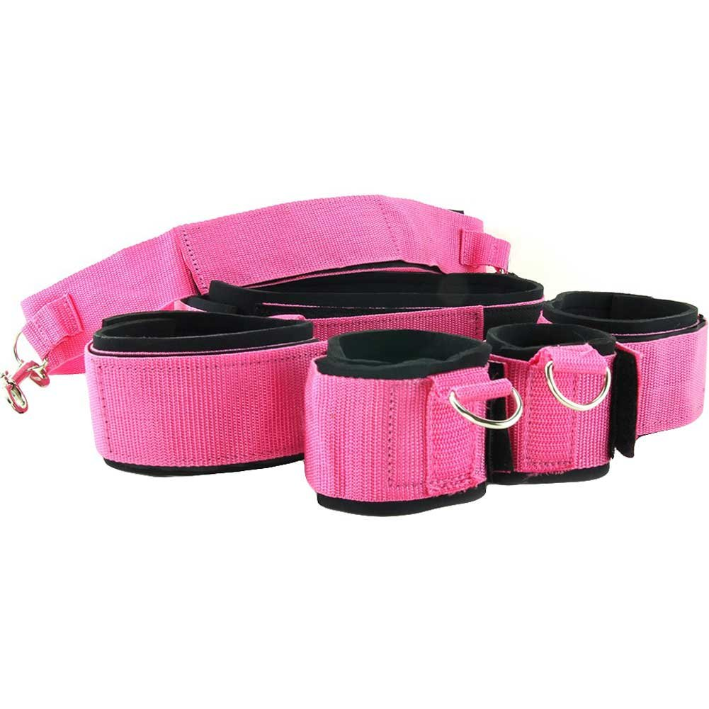 Topco Waterproof Sinners Full Body Restraints Pink - View #3