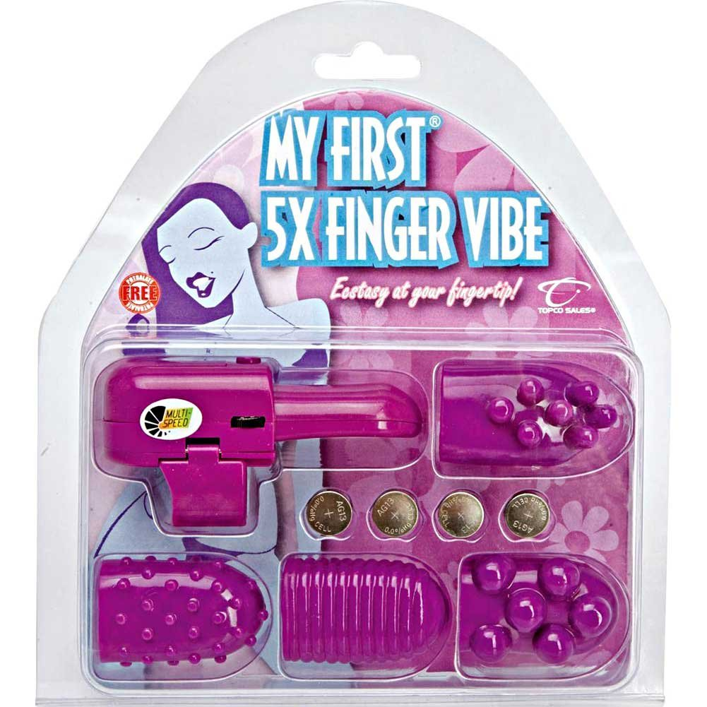 Topco 5x Finger Vibe Kit Purple - View #1