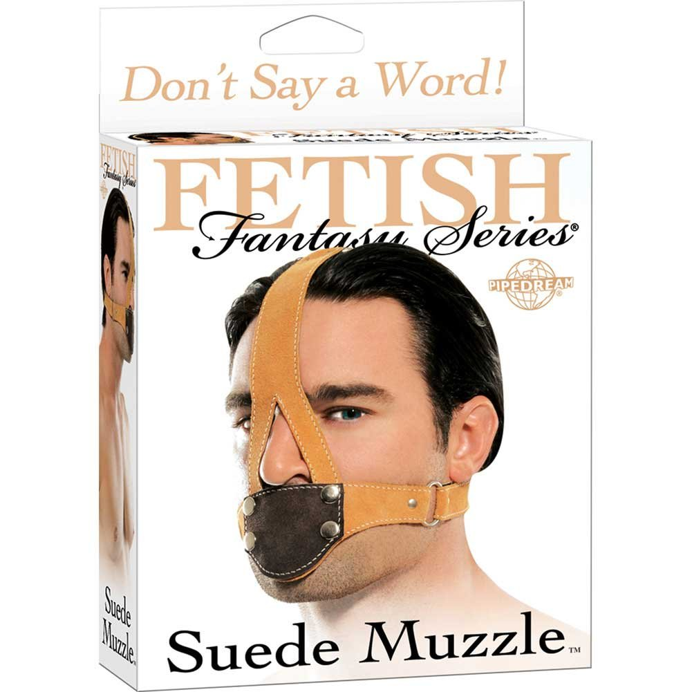 Fetish Fantasy Suede Muzzle - View #1