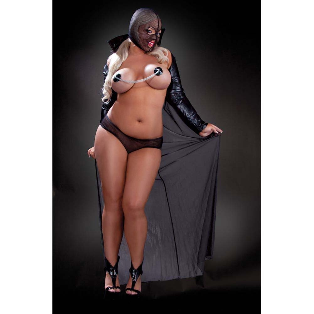 Fetish Fantasy Lingerie Twilight Night Costume Queen Black - View #3
