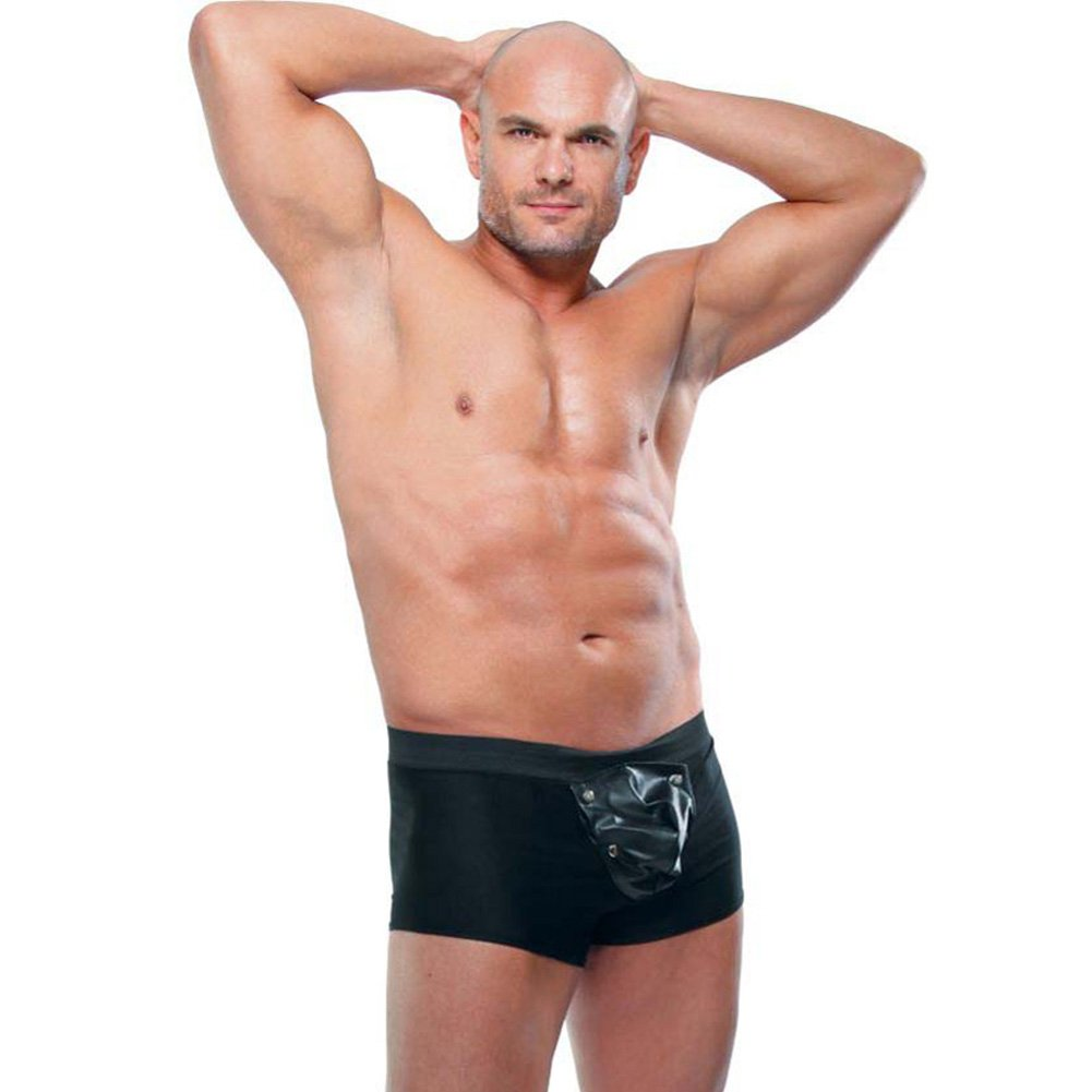 Fetish Fantasy Lingerie Beefy Brief for Men 2XL/3XL Black - View #1